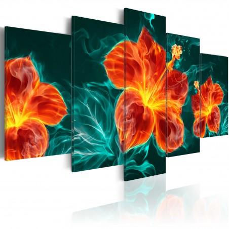 Quadro - Flaming Lily - Quadri e decorazioni