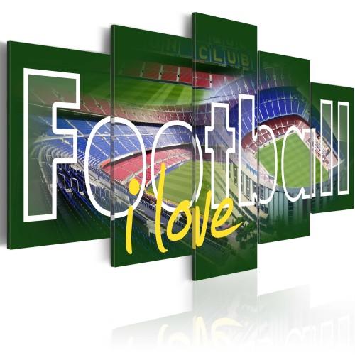 Quadro - I Love Football - Quadri e decorazioni