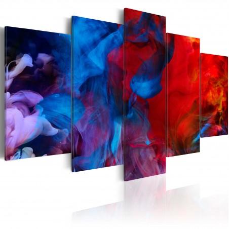 Quadro - Danza dei raggi colorati - Quadri e decorazioni