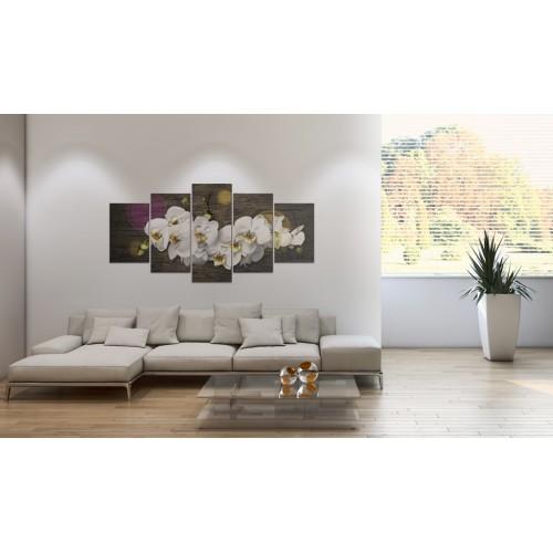 Quadro - Come una nuvola bianca - 5 pezzi - Quadri e decorazioni