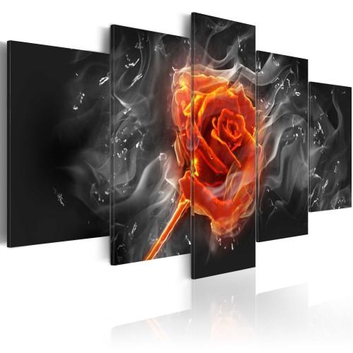 Quadro - Rosa ardente - Quadri e decorazioni