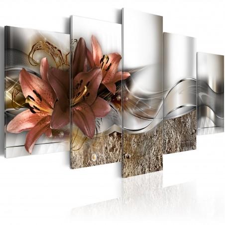 Quadro - Onda marsala - Quadri e decorazioni