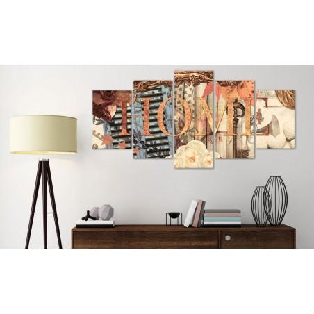 Quadro - Home (Retro) - Quadri e decorazioni