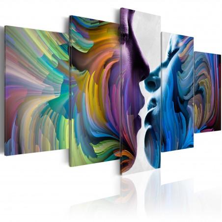 Quadro - Kiss of Colours - Quadri e decorazioni
