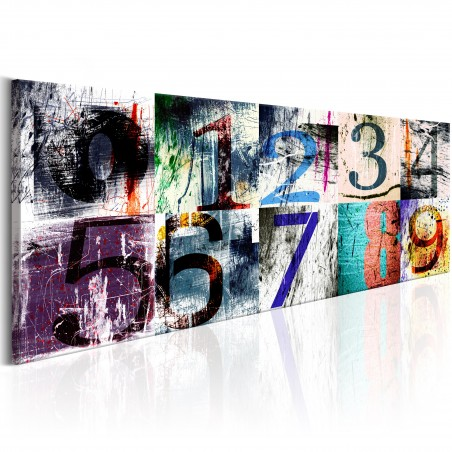Quadro - Colourful Numbers - Quadri e decorazioni