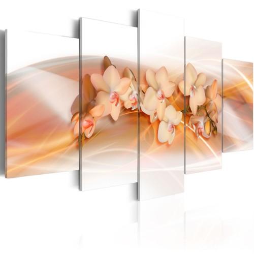 Quadro - Orchidea: decorazione delicata della casa - Quadri e decorazioni