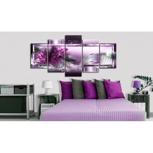 Quadro - Purple Lilies - Quadri e decorazioni