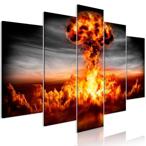 Quadro - Explosion (5 Parts) Wide - Quadri e decorazioni
