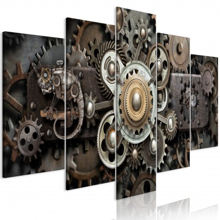 Quadro - Old Mechanism (5 Parts) Wide - Quadri e decorazioni