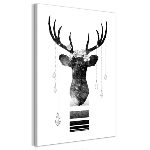 Quadro - Abstract Antlers (1 Part) Vertical - Quadri e decorazioni