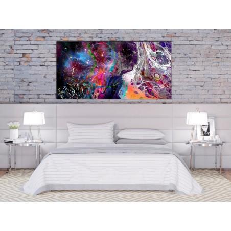 Quadro - Colourful Galaxy (1 Part) Wide - Quadri e decorazioni
