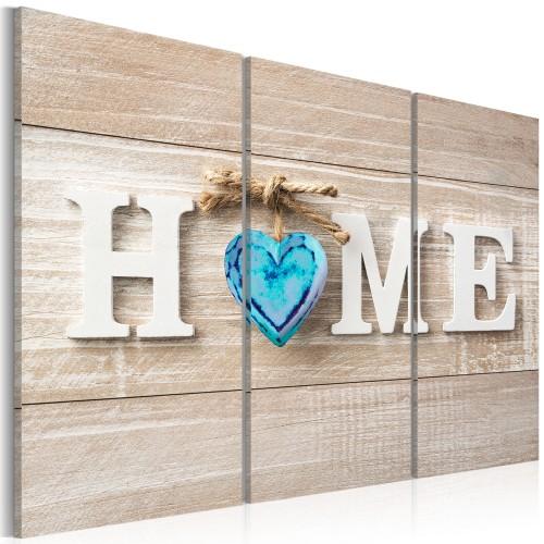 Quadro - Home: Blue Love - Quadri e decorazioni