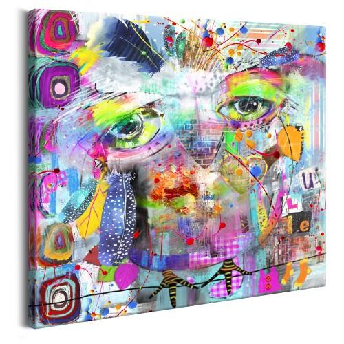 Quadro - Colourful Owl - Quadri e decorazioni