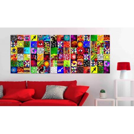 Quadro - Colourful Abstraction - Quadri e decorazioni