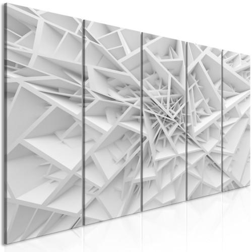 Quadro - Complicated Geometry (5 Parts) Narrow - Quadri e decorazioni