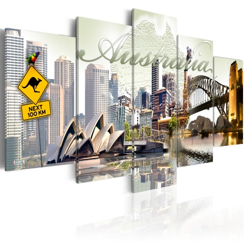 Quadro - Welcome to Australia! - Quadri e decorazioni