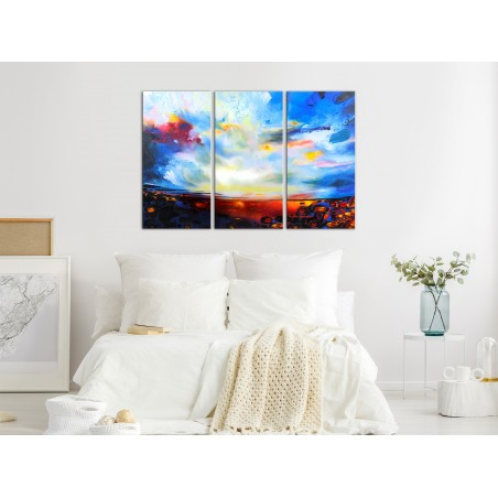 Quadro - Colourful Sky (3 Parts) - Quadri e decorazioni