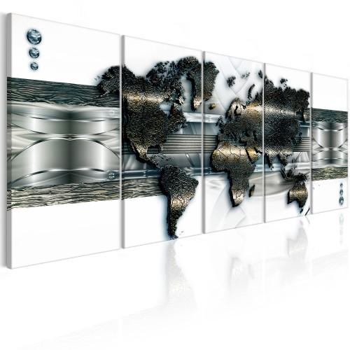 Quadro - Three-dimensional Map - Quadri e decorazioni