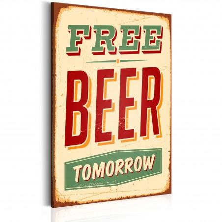 Quadro - Free Beer Tomorrow - Quadri e decorazioni